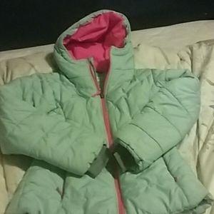 Girls size S Columbia winter coat